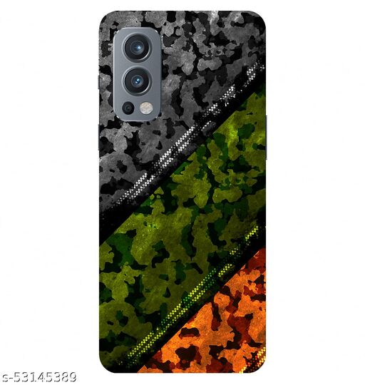 CreativeSoul ''Army Uniform Pattern'' (Camouflage Multicolor) Printed Hard Back Case For OnePlus Nord 2 5G / 1+Nord 2 5G, Designer Cases & Covers For Your Smartphones
