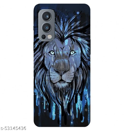 CreativeSoul ''Lion Painting'' Printed Hard Back Case For OnePlus Nord 2 5G / 1+Nord 2 5G, Designer Cases & Covers For Your Smartphones