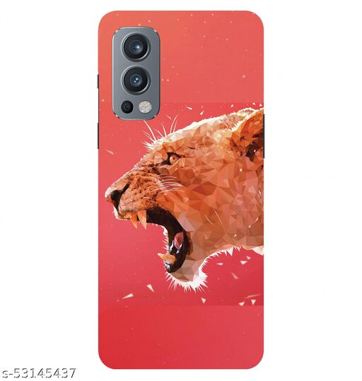 CreativeSoul ''Leopard Illustration'''' Printed Hard Back Case For OnePlus Nord 2 5G / 1+Nord 2 5G, Designer Cases & Covers For Your Smartphones