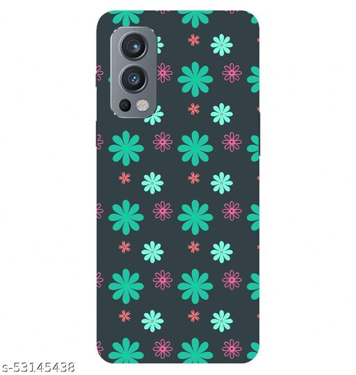 CreativeSoul ''Colorful Flowers Texture'' -(Pink) Printed Hard Back Case For OnePlus Nord 2 5G / 1+Nord 2 5G, Designer Cases & Covers For Your Smartphones