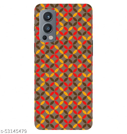CreativeSoul ''Circular Pattern'' Printed Hard Back Case For OnePlus Nord 2 5G / 1+Nord 2 5G, Designer Cases & Covers For Your Smartphones