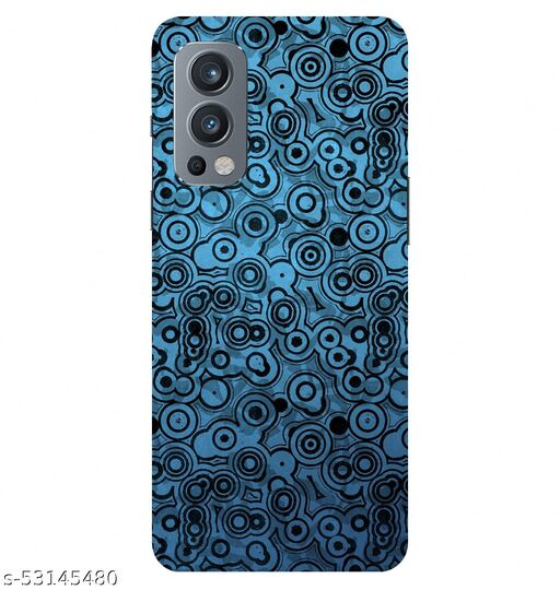 CreativeSoul ''Round Design Pattern'' Printed Hard Back Case For OnePlus Nord 2 5G / 1+Nord 2 5G, Designer Cases & Covers For Your Smartphones