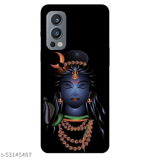 CreativeSoul ''Lord Shiva''Printed Hard Back Case For OnePlus Nord 2 5G / 1+Nord 2 5G, Designer Cases & Covers For Your Smartphones