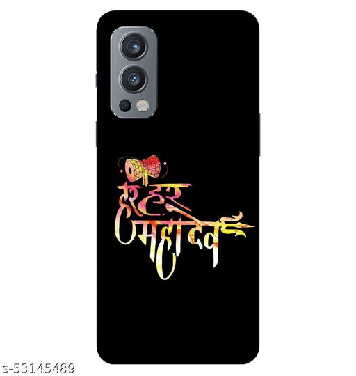 CreativeSoul ''Har_Har_Mahadev'' Printed Hard Back Case For OnePlus Nord 2 5G / 1+Nord 2 5G, Designer Cases & Covers For Your Smartphones