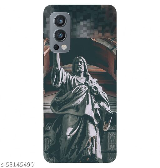 CreativeSoul ''Lord Jesus'' Printed Hard Back Case For OnePlus Nord 2 5G / 1+Nord 2 5G, Designer Cases & Covers For Your Smartphones