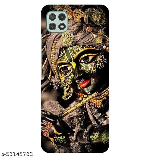 CreativeSoul ''Lord Krishana'' Printed Hard Back Case For Samsung Galaxy A22 5G, Designer Cases & Covers For Your Smartphones