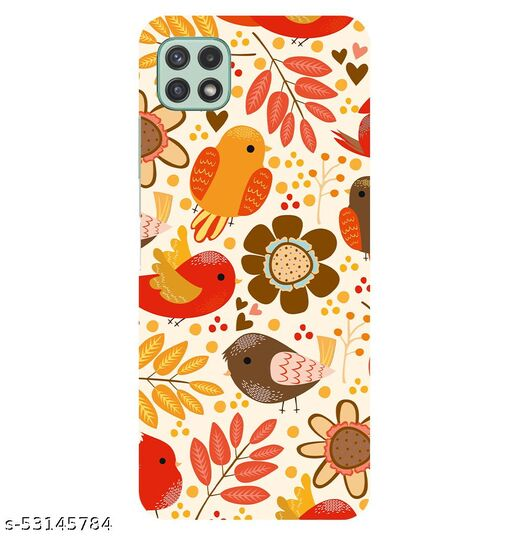 CreativeSoul ''Bird & Flowers Painting'' Printed Hard Back Case For Samsung Galaxy A22 5G, Designer Cases & Covers For Your Smartphones