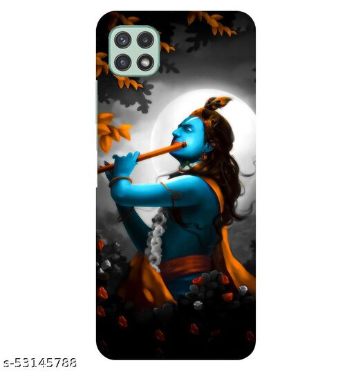CreativeSoul Lord ''Krishan''' Printed Hard Back Case For Samsung Galaxy A22 5G, Designer Cases & Covers For Your Smartphones