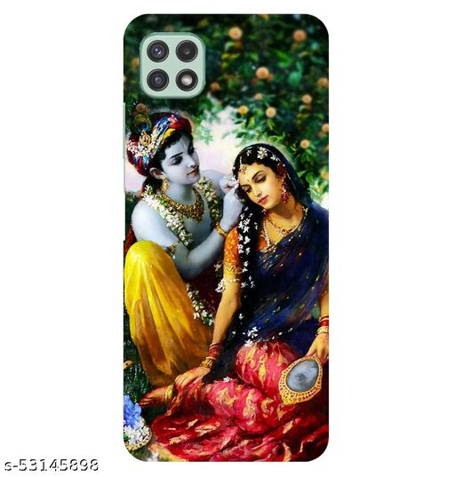 CreativeSoul ''Lord ''Radha Krishan'' Printed Hard Back Case For Samsung Galaxy A22 5G, Designer Cases & Covers For Your Smartphones