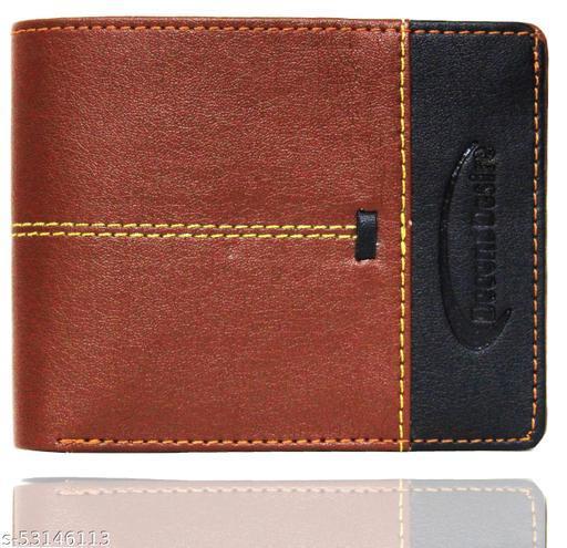 Decent Desire Men's Wallet Trendy Brown