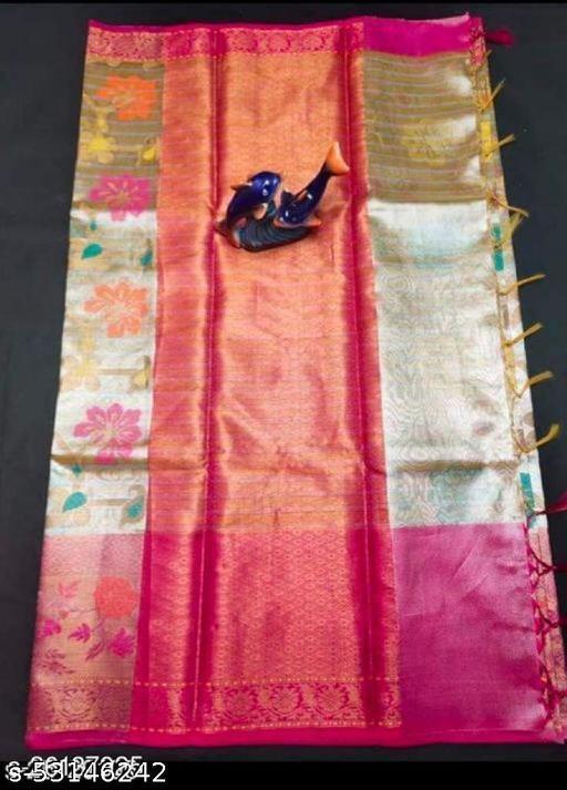 Stylish Banarasi Tissue Saree