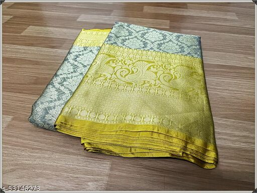 New Trendy Tissue Silk Saree