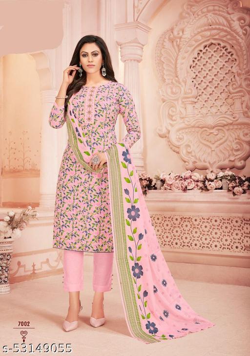 Karachi cotton printed  Dupatta set