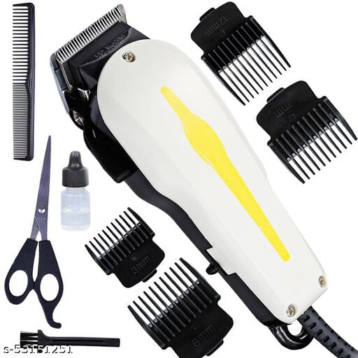 New Heavy Performance Corded Trimmer Shaver Hair Clipperwith Large Battery Electric Hair Cutting Machine Haircut Cutter for Men Barber Salon