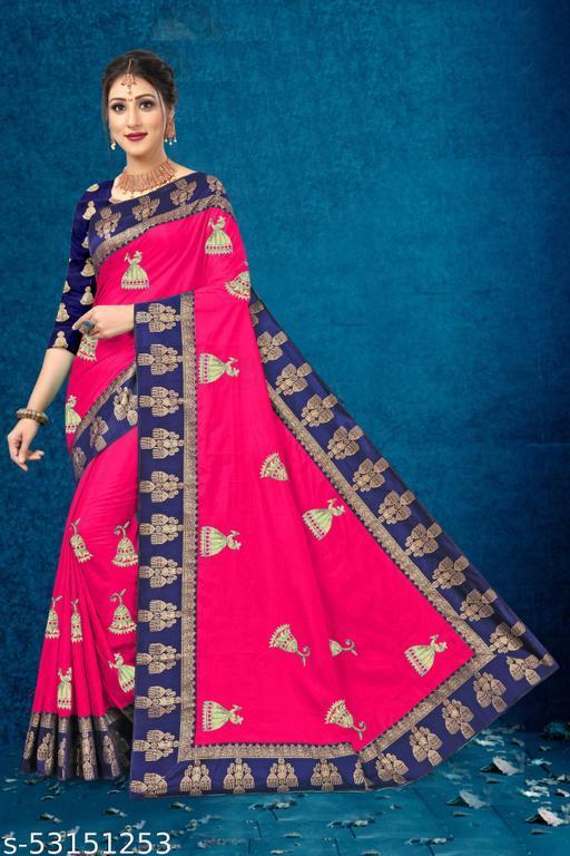 Preity Women's Embroidery Saree