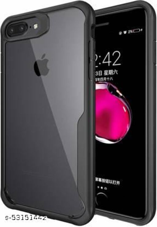Shockproof protective transparent Silicone Case for Apple Iphone 8 Plus