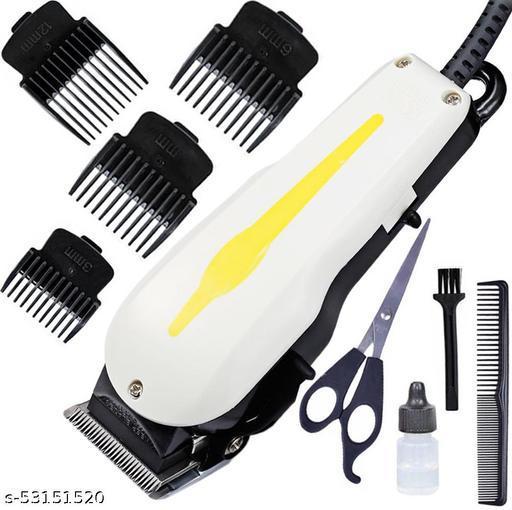 Professional man Titanium Steel Blade beard trimmer powerful corded hair clipping TRIMMER barbar hair clipper