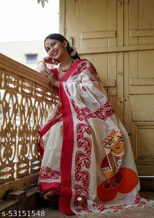 Durga Pooja Saree