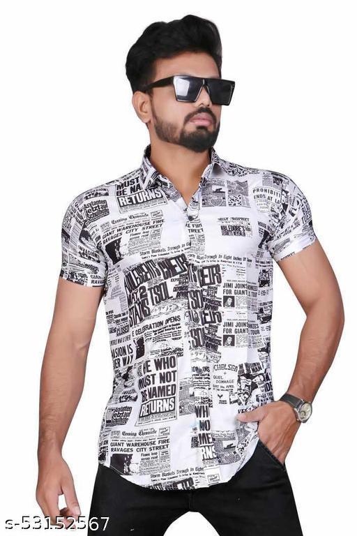 Lyacra and printed shirt
