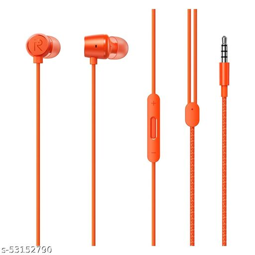 realme Original Wired in Ear Buds 2 with Mic for Android Smartphones (Orrange)