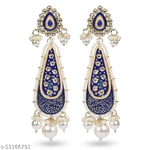 Seevee Fashion Traditional Indian Design Antique Ethnic Collection Earrings