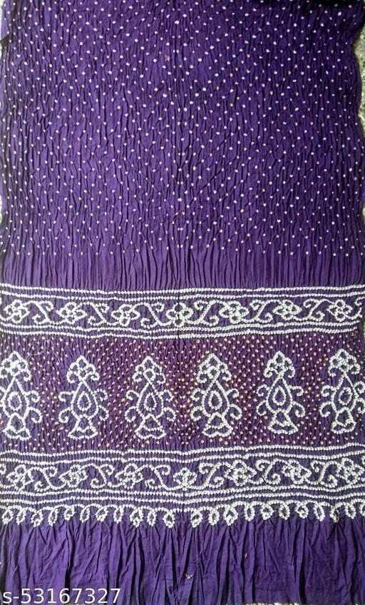 Glass cotton bandhni saree with blouse
