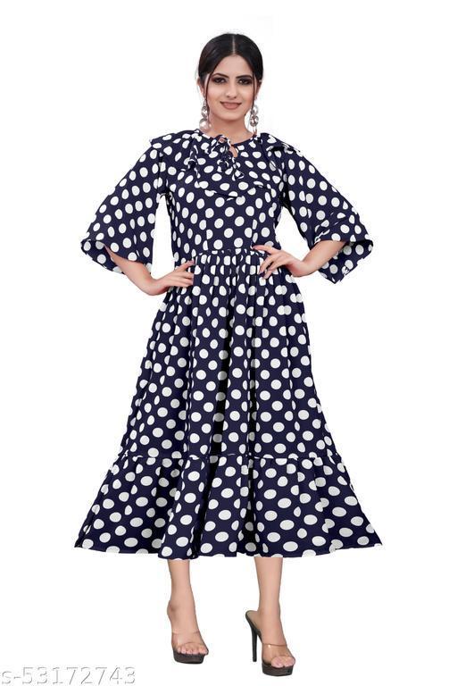 SVENCY Women's A-Line Maxi Dress