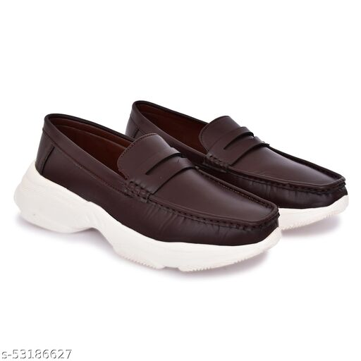 Neoron casual brown Monk shoes for men