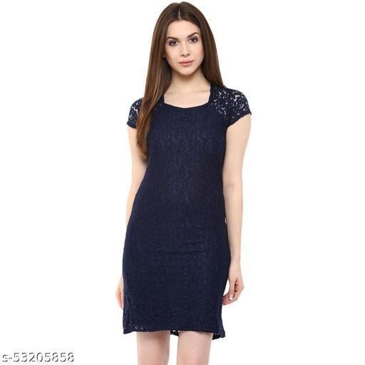 Mayra Women's Blue Color Dress