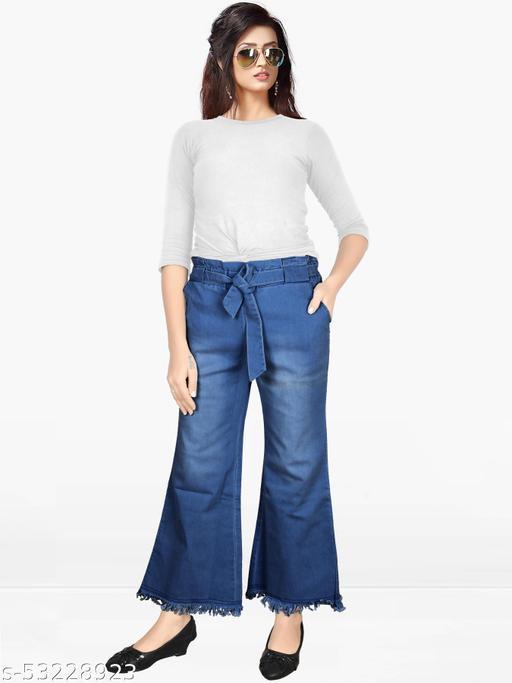 Denim Blue Stretchable Jeans