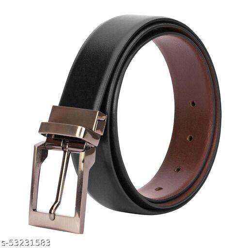 Men Casual, Party, Formal Black, Brown Genuine Leather Reversible  belts for men stylish branded leather pure leather belts for men