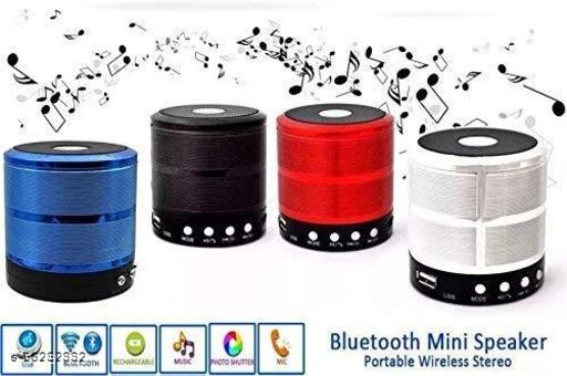 ZOUNDS WS-887 Wireless Bluetooth Outdoor Speaker (Mix Colour)