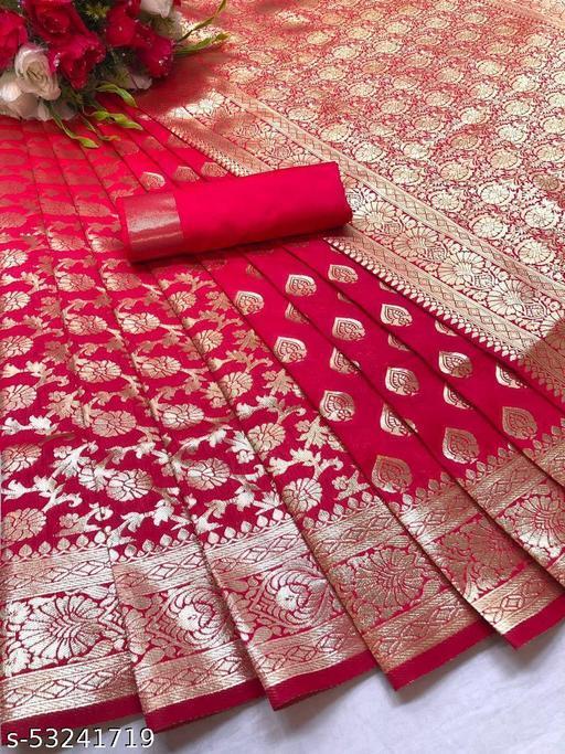 Fancy Unique Soft Banarasi Silk Saree