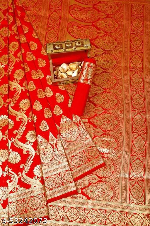 Fancy Unique Banarasi Silk Saree
