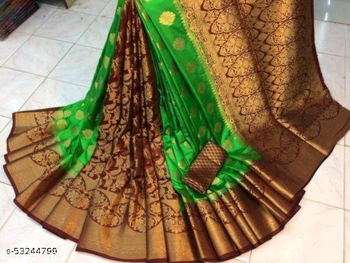 Designer Banarasi Silk Patali Pallu saree for Women