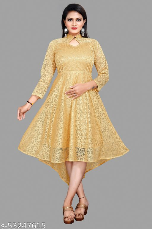 Women High Low Dress