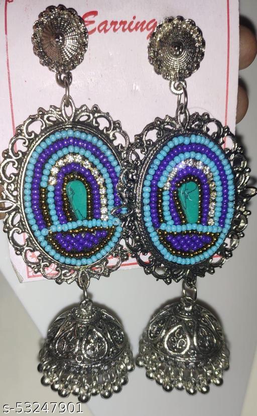 Earrings with Jhumka