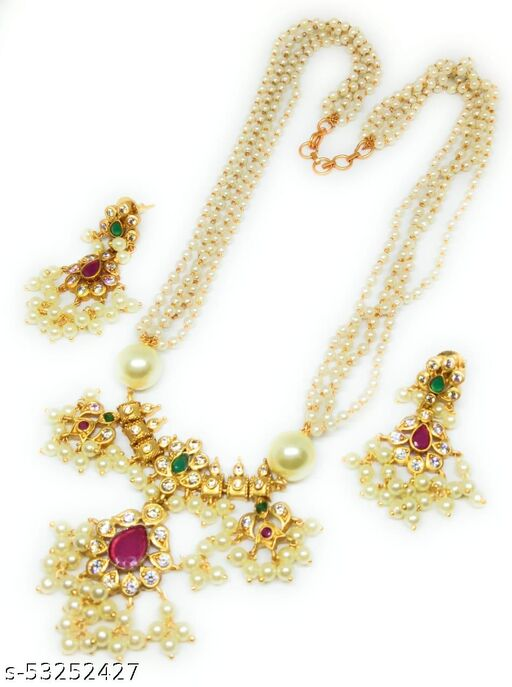 ADC Fashion new white beads chain sets for womens