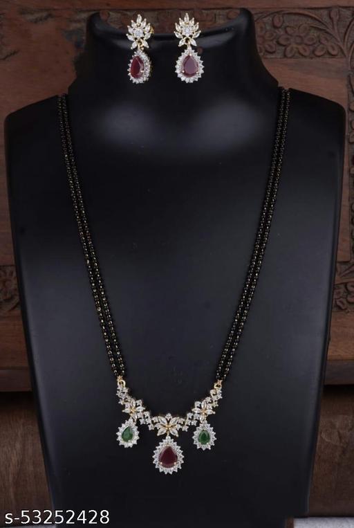 ADC Fashion new black beads chain sets for womensJewellery Set
