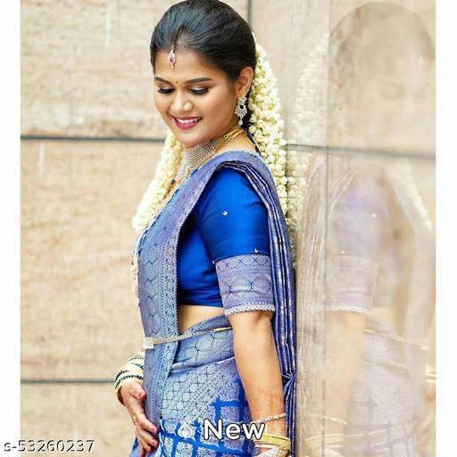 Neenu Soft Kanjivaram Pattu Jacquard Silk Saree