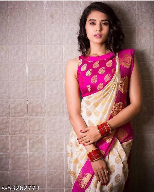 Ananya Kashyap Soft Kanjivaram Saree