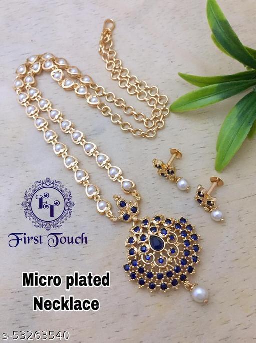 Cheapokart's Blue Stoned Jewellery Set