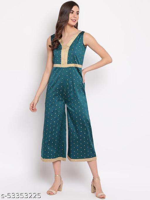 Mayra Women's Green Jumpsuit