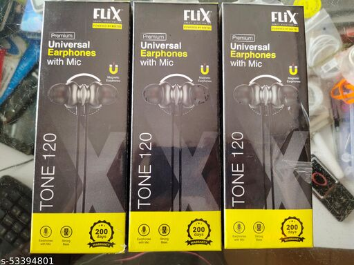 FLIX UNIVERSAL EARPHONES WITH MIC