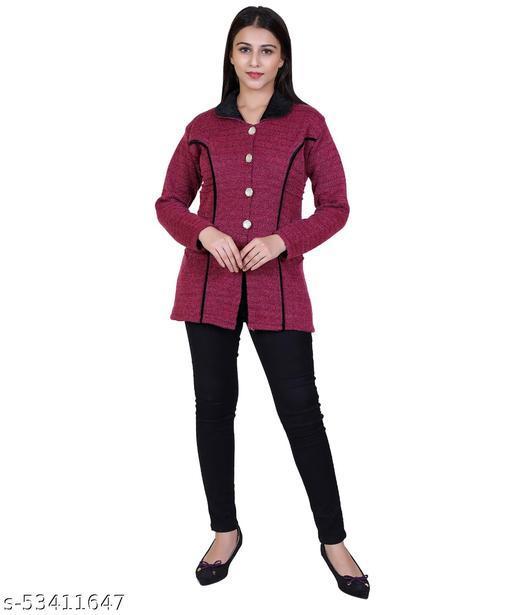 Women Woolen Coat