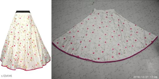Elegant Malbari Silk Skirts