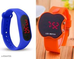 Trendy Rubber Kids Watches