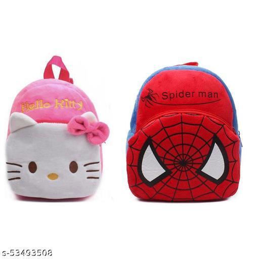 Multi color Soft Bag for Kids (pack of 2 )