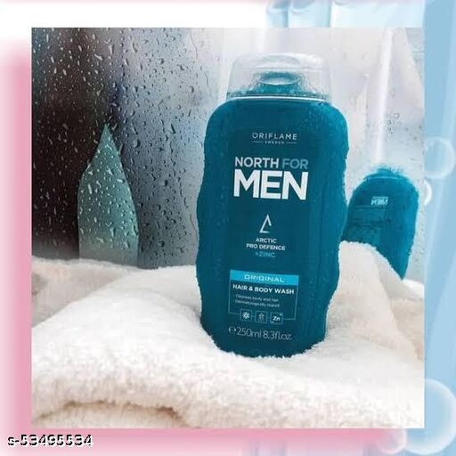 Oriflame north for men hair and body wash