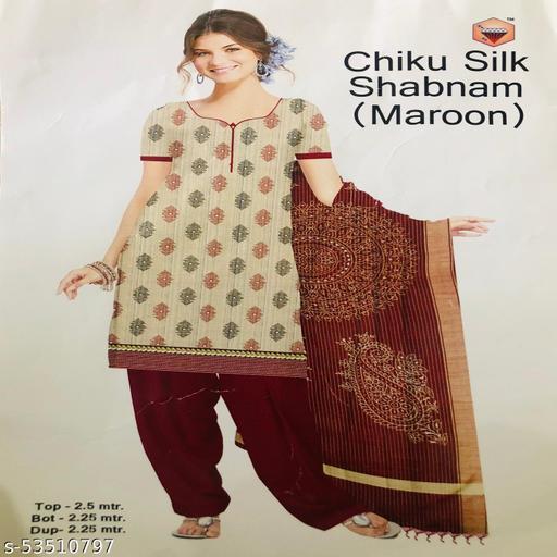 Trendy Kota Doria Salwar Suit Material